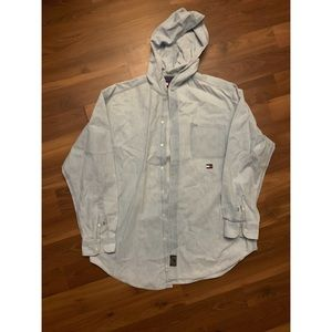 Tommy Hilfiger hooded button down